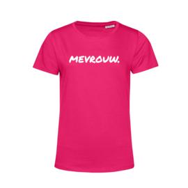 Fuchsia MEVROUW. Shirt Ronde hals