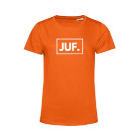 Oranje JUF. Shirt Ronde hals Klas