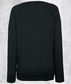 Zwart JUF. Ladyfit Sweater Krijt