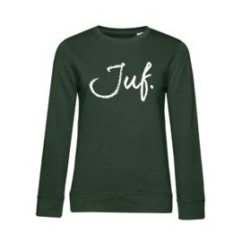 Flessengroen JUF. Ladyfit Sweater Krijt