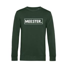 Flessengroen MEESTER. Lightweight Sweater Klas