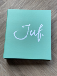 Mint JUF. A4 map 40mm met 2-rings