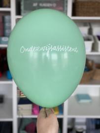 Diverse kleuren ONDERWIJSASSISTENT. Ballonnen (10 stuks)