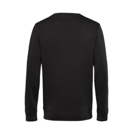 Zwart DOCENT. Heren Sweater Krijt