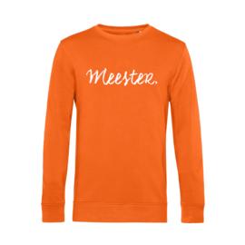 Oranje MEESTER. Lightweight Sweater Krijt