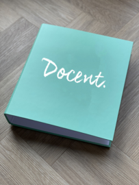 PRE-ORDER: Mint DOCENT. A4 map 50mm met 4-rings