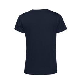 Donkerblauw MEVROUW. Shirt Ronde hals