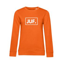 Oranje JUF. Ladyfit Sweater Klas