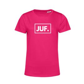 Fuchsia JUF. Shirt Ronde hals Klas