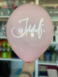 Diverse kleuren JUF. Ballonnen (10 stuks)