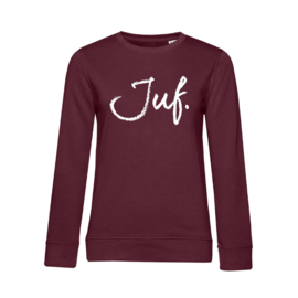 Bordeaux JUF. Ladyfit Sweater Krijt
