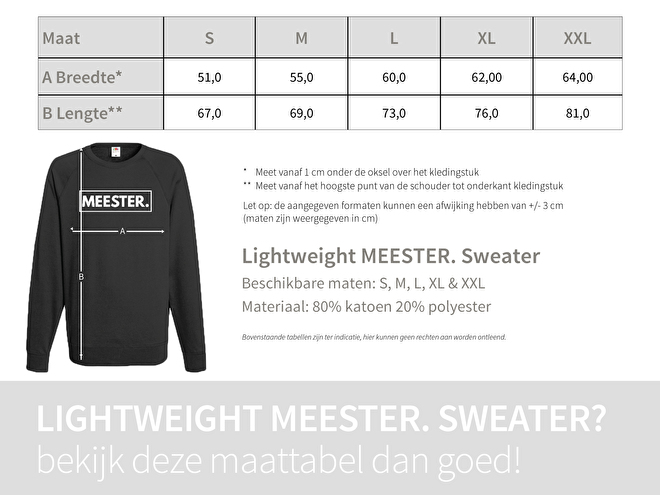 Bordeaux MEESTER. Lightweight Sweater Krijt (Maat: S