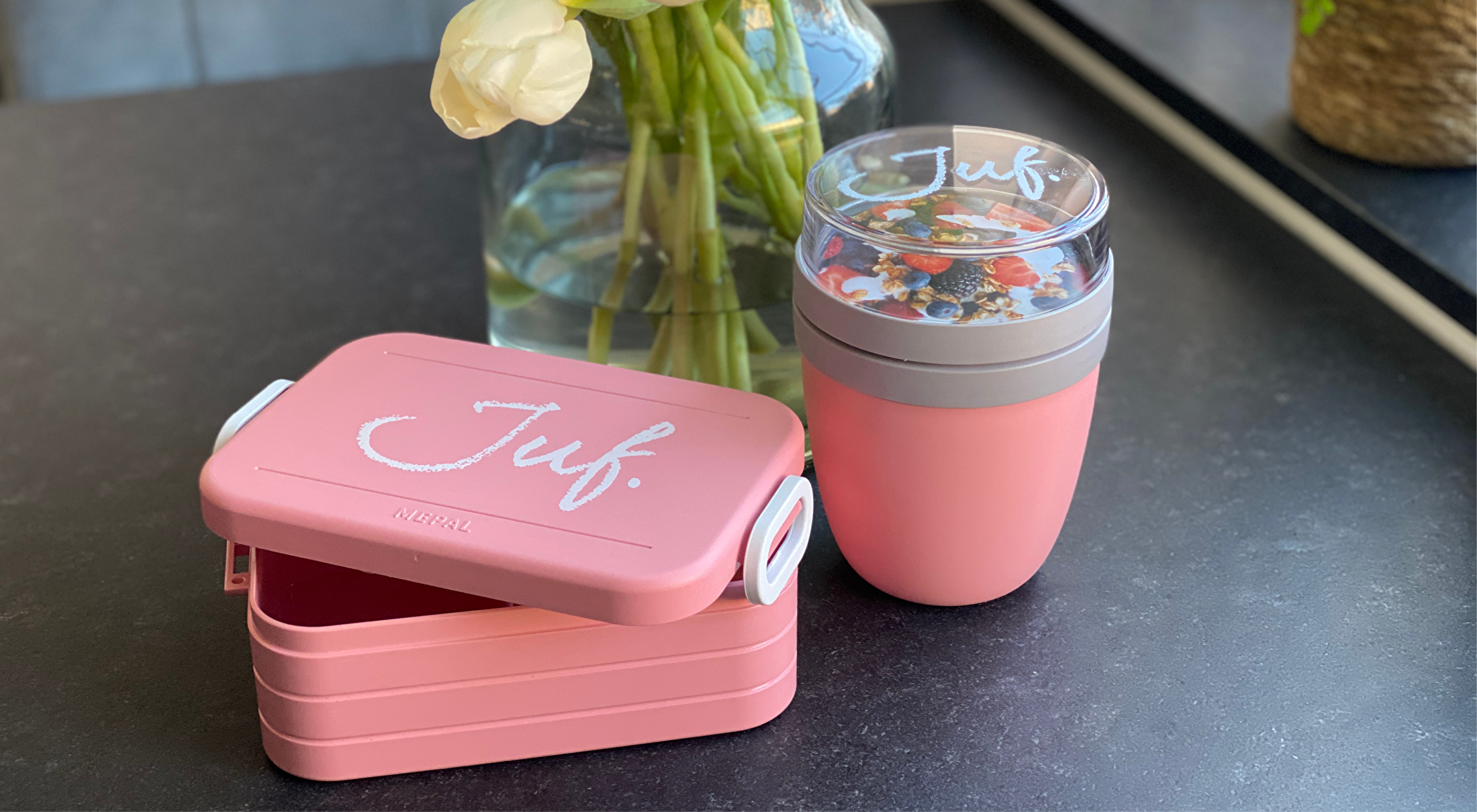 Lunchboxen en potten