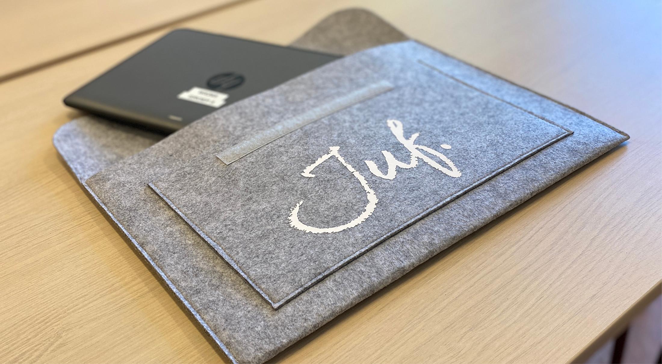 Vilten laptop hoezen