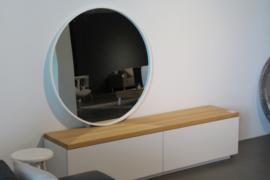 Spiegel rond 100cm doorsnee!