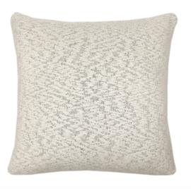 Kussen Fantasy line knitted offwhite