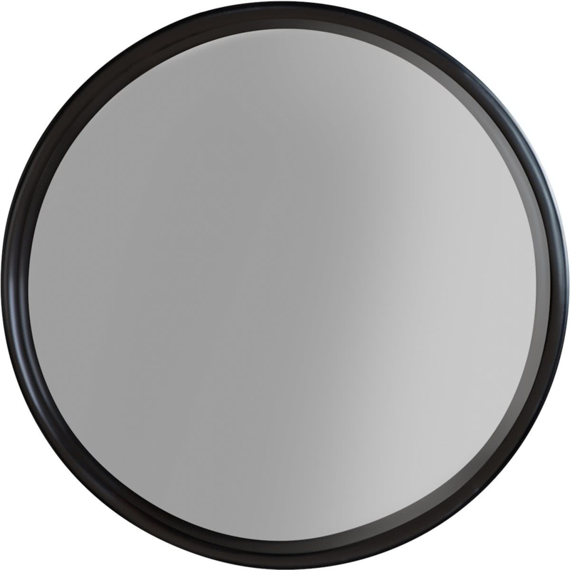 Ronde spiegel Raj klein