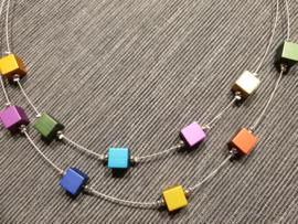 Multicolor ketting