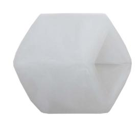 Cube los, White