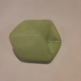 Cube los, zacht groen / mat