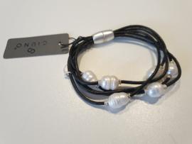 Parel armband magneetslot