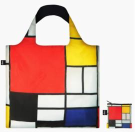 Opvouwbare shopper / Mondriaan