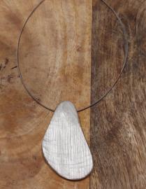 ketting met naturel hanger