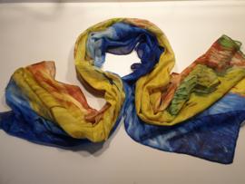 Sjaal kunstprint