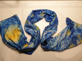 Kunst sjaal 2 prints Van  Gogh