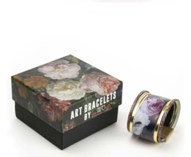 Art Bracelet, De Heem Flowers, 50mm