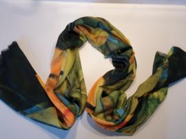 Sjaal kunstprint Frida Kahlo