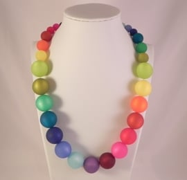 Volle multicolor ketting (AD1604)
