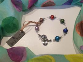 Multi colour armband magneetslot