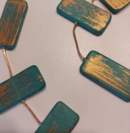 Lange ketting groen goud