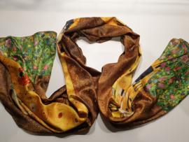 Kunst sjaal 2 prints oa Klimmt