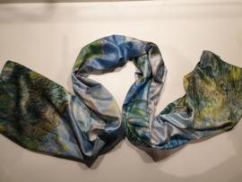 Kunst sjaal 2 prints Monet en Manet