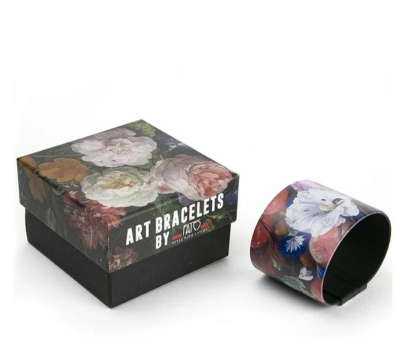 Art Bracelet, De Heen Flowers, 40mm
