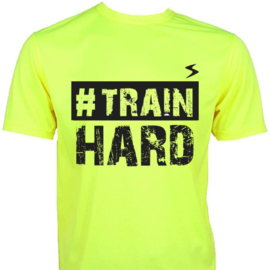 T-shirt - #TrainHard - dry fit