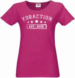 YorACTION | T-Shirt | EST 2008 - Roos