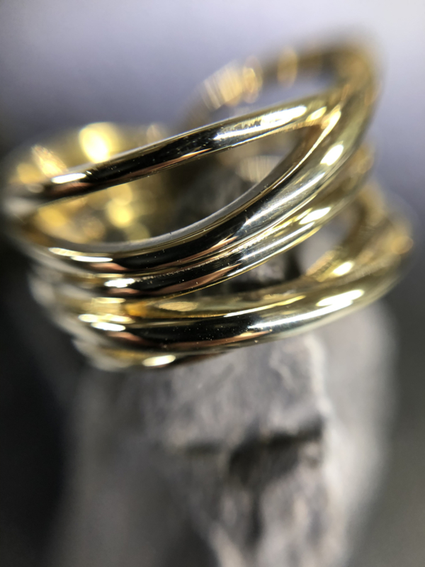 Gouden wikkelring