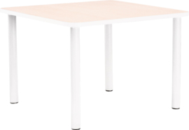 Vierkante Quint-tafel 65 x 65 cm met witte rand 40-58cm