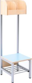 Flexi garderobe 2, zithoogte 26 - lichtblauw