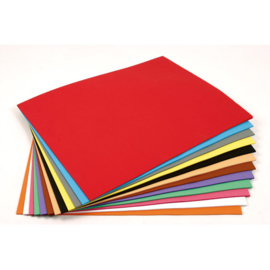 Tekenpapier 80 grams 500vel 21x29,7cm 10 kleuren - Assorti