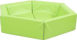 Zeshoekig zitje - groen