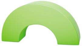 Foam halve cirkel  120x30x60cm - Groen