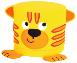 Poef - tijger