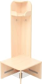 Mariposa vlamvertragende garderobe - buitenhoek, laag