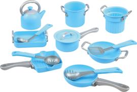 Keukenset potten en pannen groot