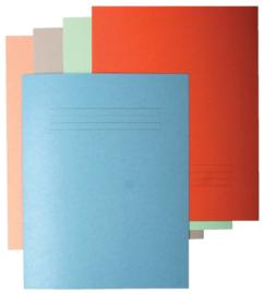 50x Vouwmap Quantore ICN1 A4 240X310mm blauw