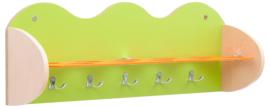 Plank voor bekers en accessoires - groen